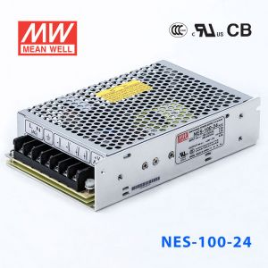 NES-100-24 100W 24V4.5A 单路输出CCC认证明纬开关电源(NE系列)