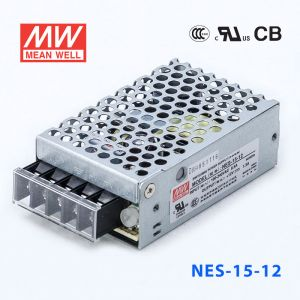 NES-15-12 15.6W 12V 1.3A 单路输出CCC认证明纬开关电源(NE系列)