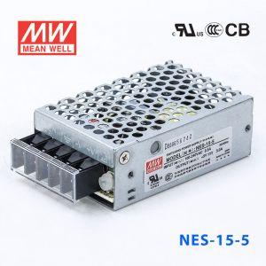 NES-15-5 15W 5V 3A 单路输出CCC认证明纬开关电源(NE系列)